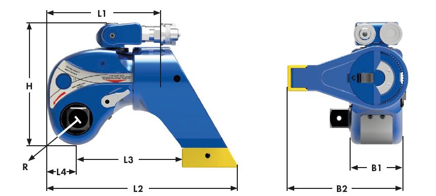 Dimensions MXT-XLT