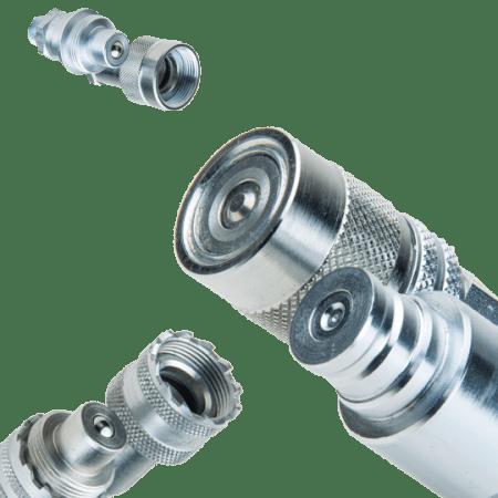 Koppelingen hydraulische slangen