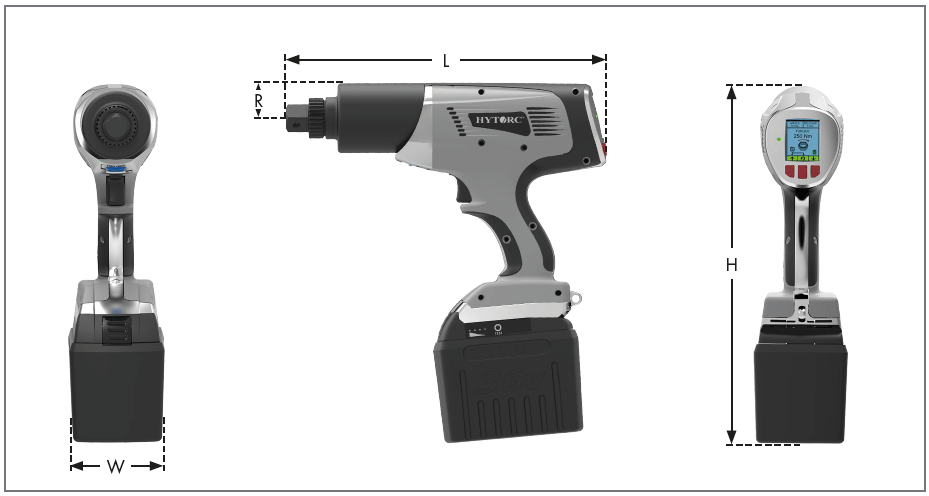 Lithium Gun Dimensions