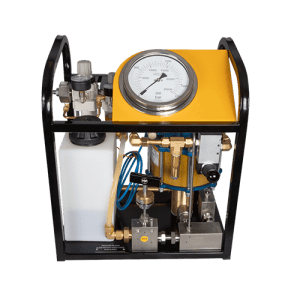 Hydraulic tensioning pump